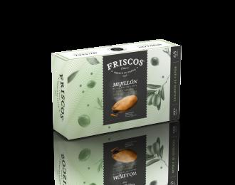Mejillones 6/8 piezas en salsa escabeche con aceite de oliva Friscos